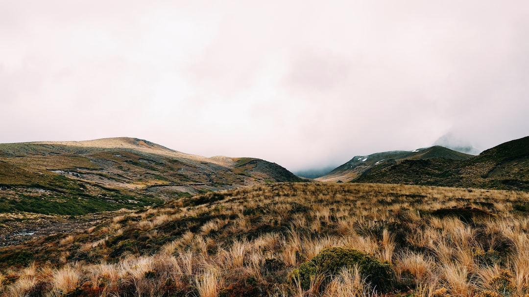 Mount Ruapehu, Tongariro National Park, New Zealand (2019)
