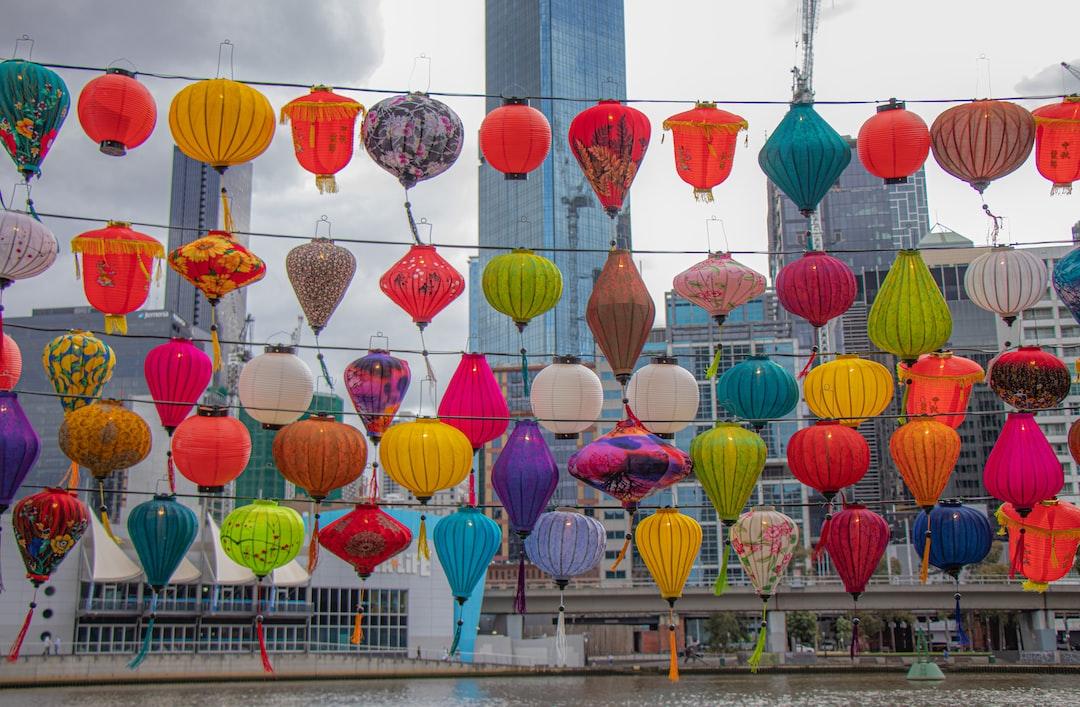 Melbourne is celebrating Lantern Festival