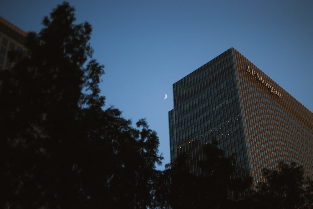 gray JP Morgan building
