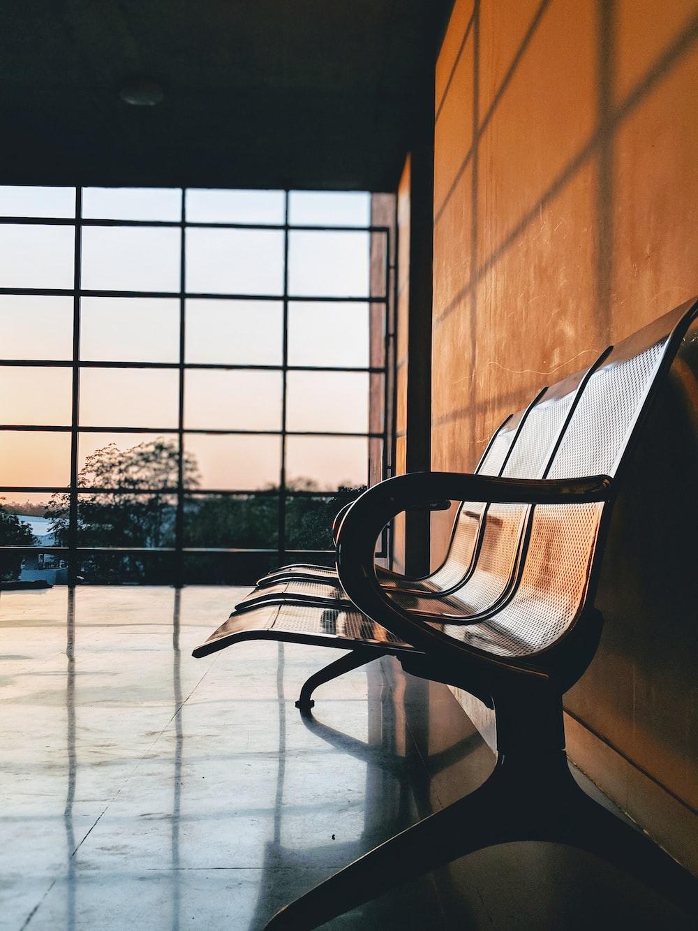 empty gang chair