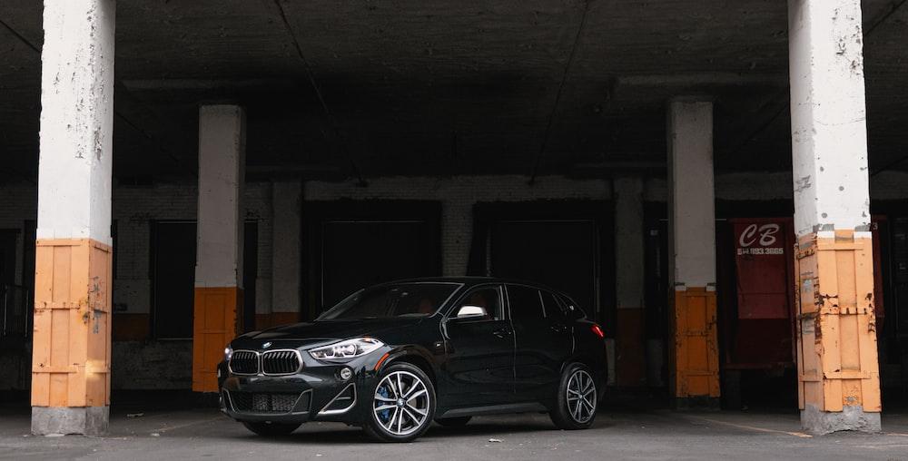 photo of black sedan