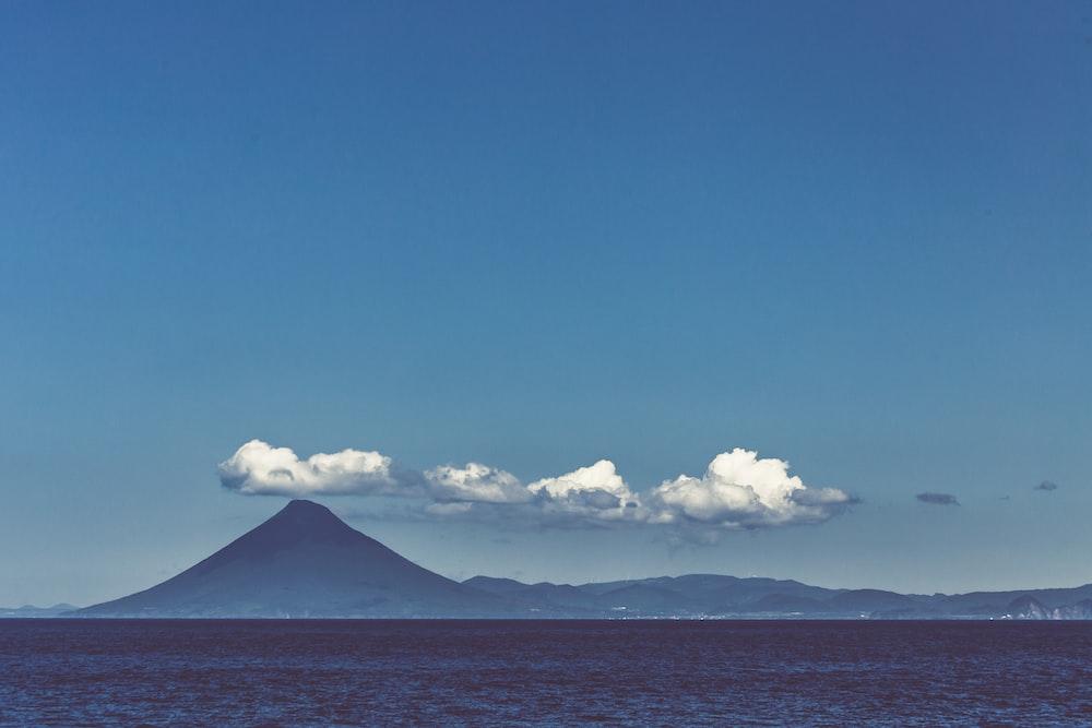 ocean and mountain