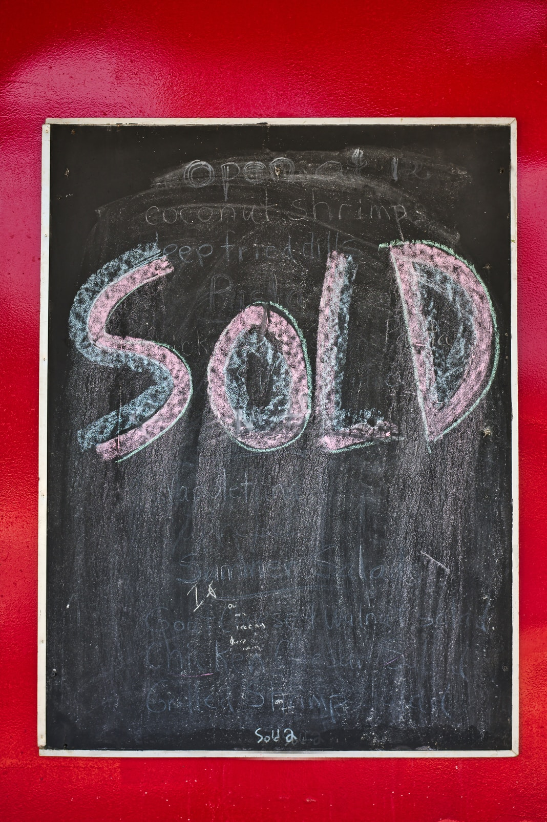 sold text