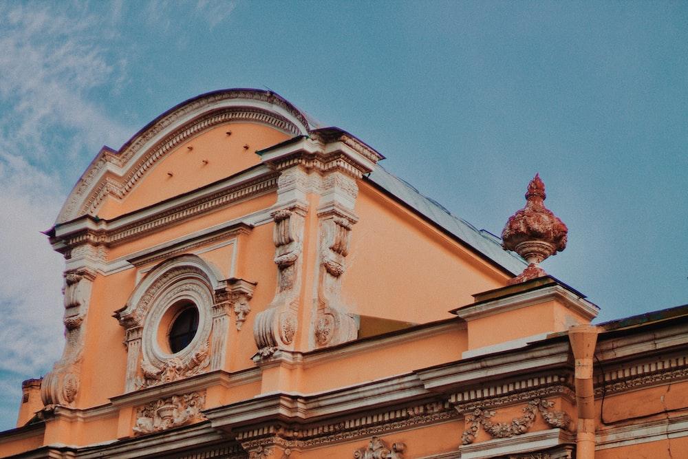 orange building during daytime