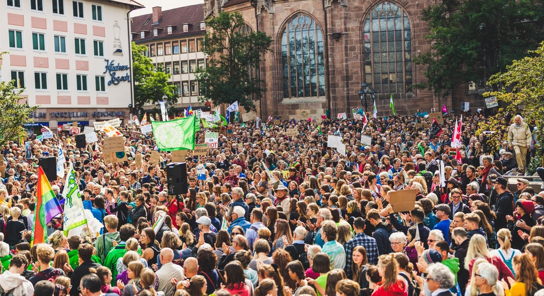 Global climate change strike - No Planet B - 09-20-2019