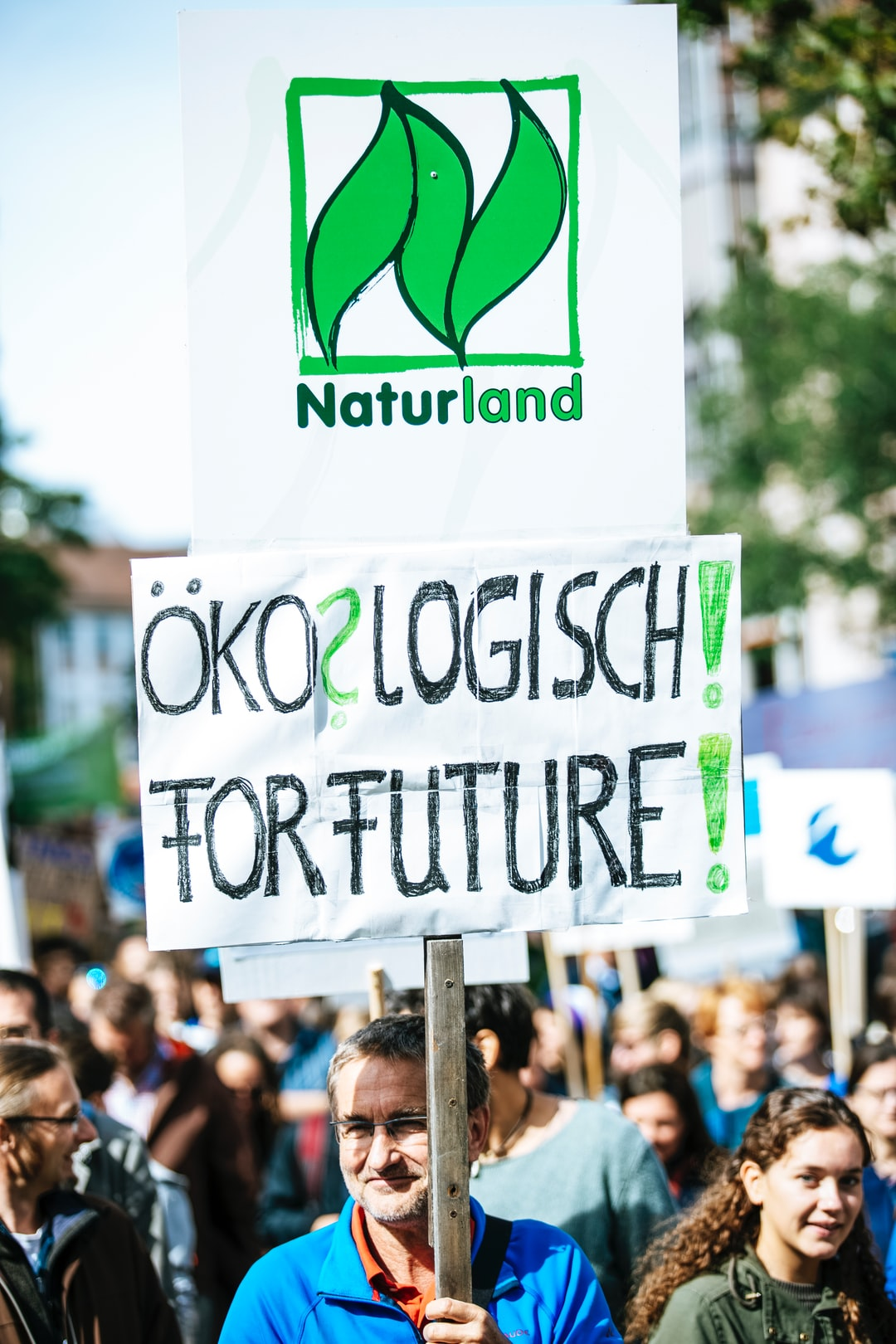ÖKO? LOGISCH! FOR FUTURE! Global climate change strike - No Planet B - 09-20-2019