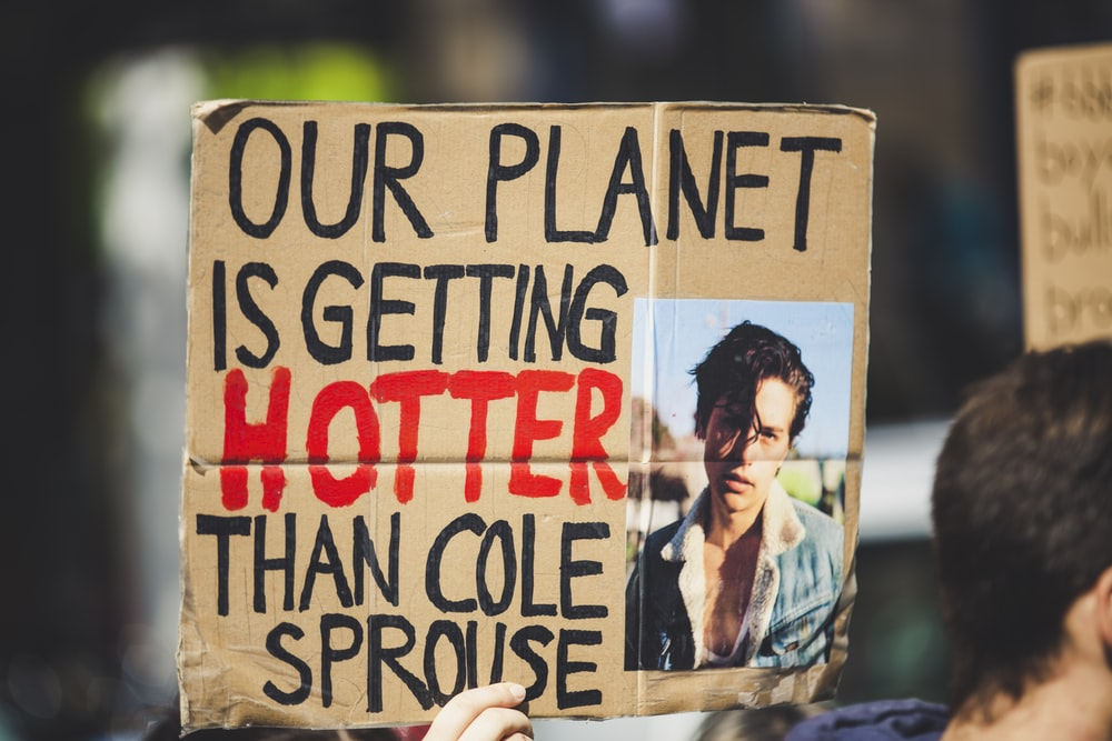 out planet is getting hotter than Cole Sprouse banner