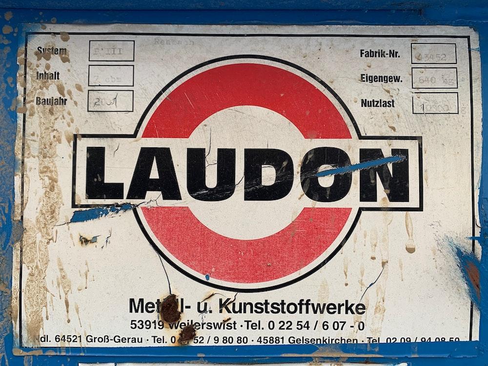 Laudon signage