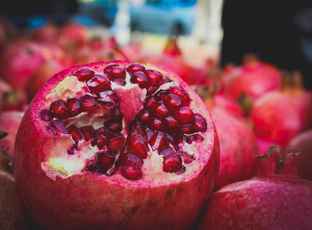 sliced fashion fruit