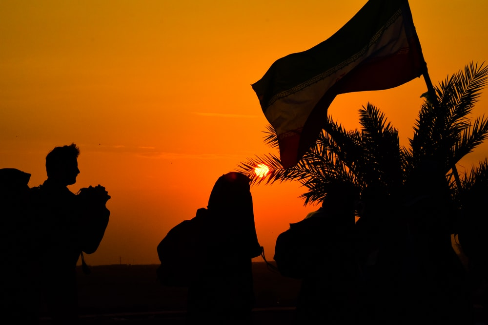 silhouette photography of people during golden hour