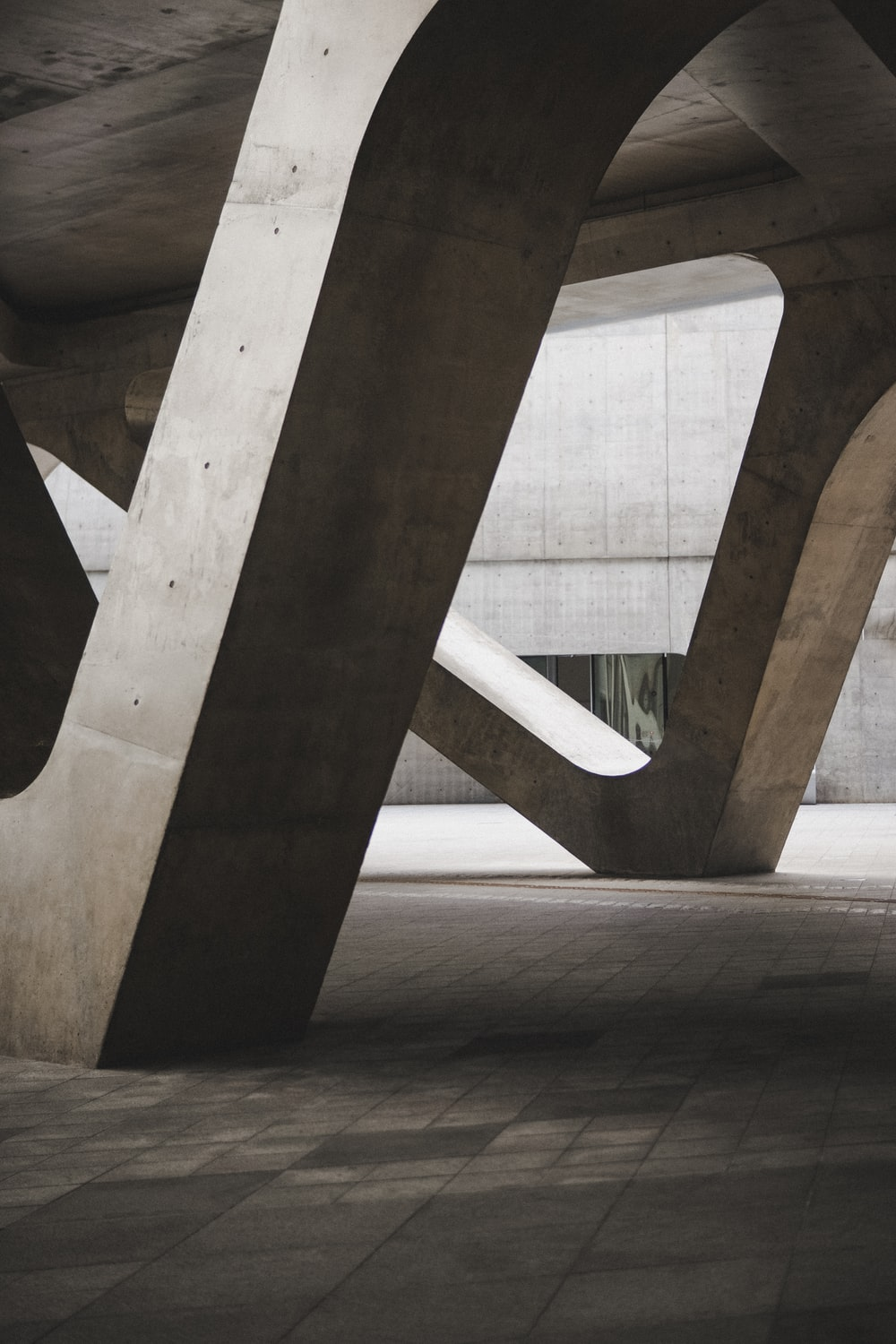 architectural photography of concrete monument