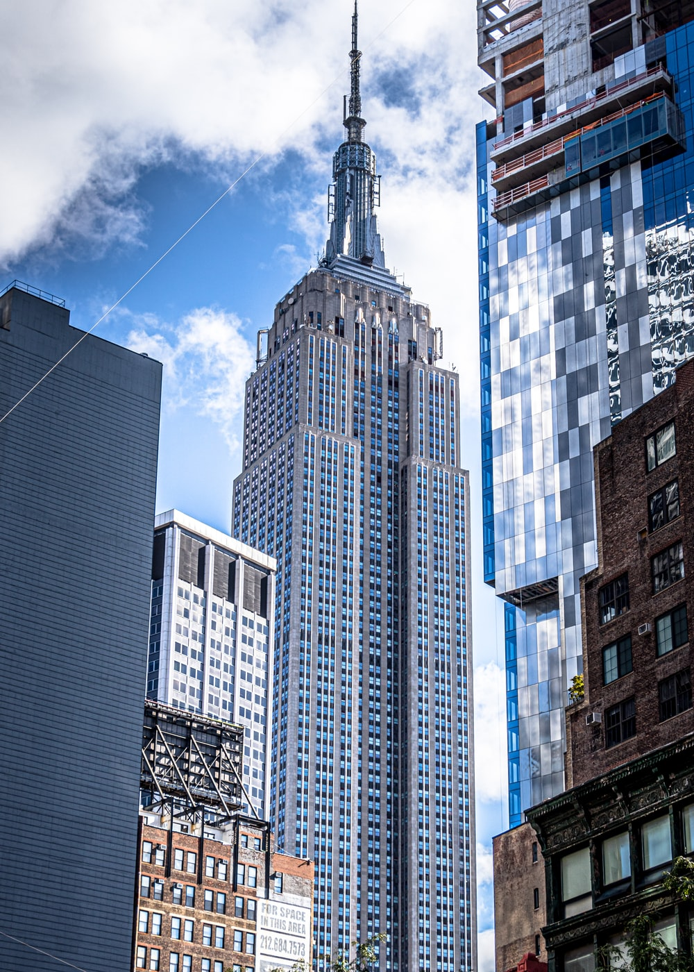 Empire State Building during daytime