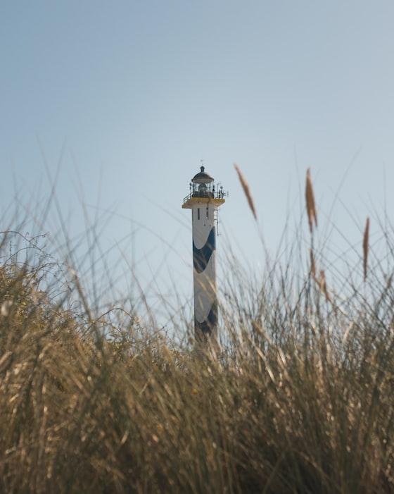 Lighthouse in Ostende, Belgium