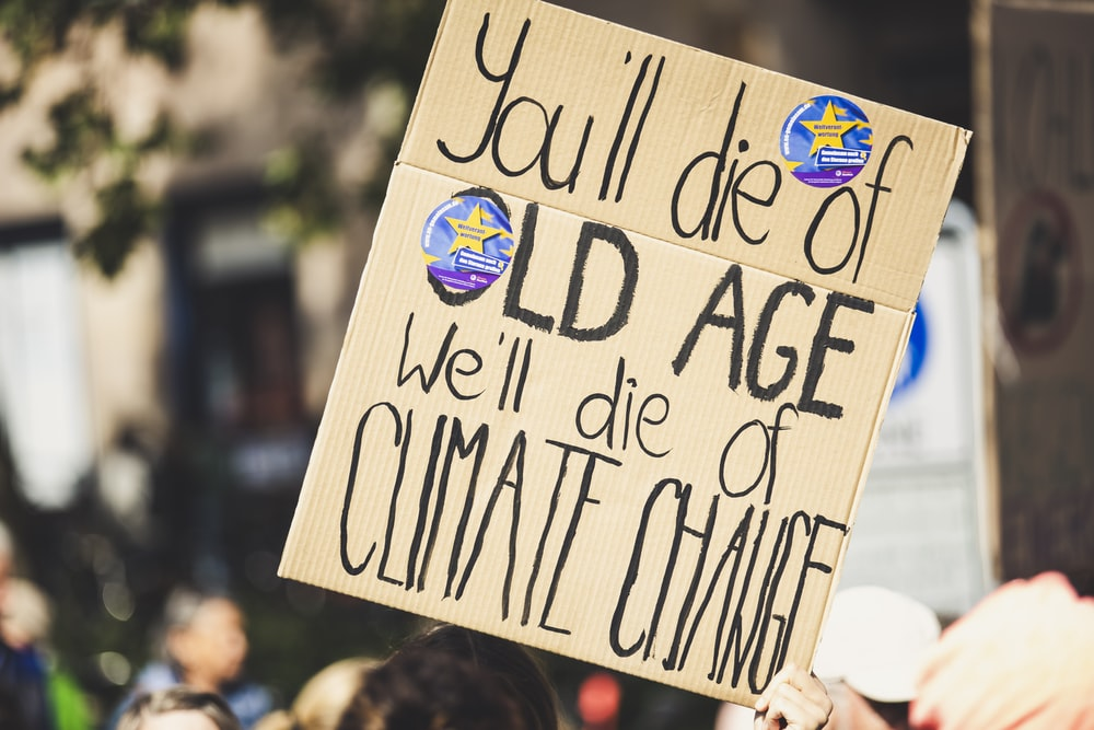 you'll die of old age we'll die of climate change text