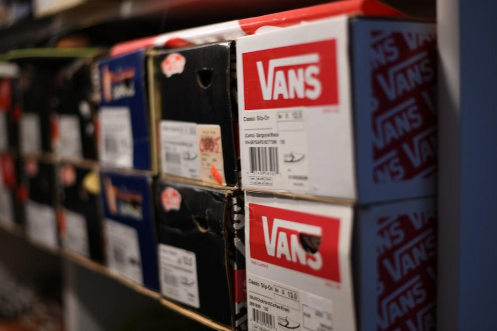 Vans shoe boxes