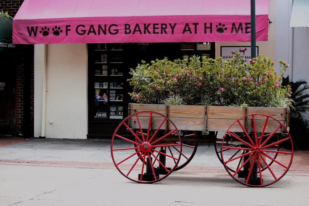 Woof Gang Bakery signage
