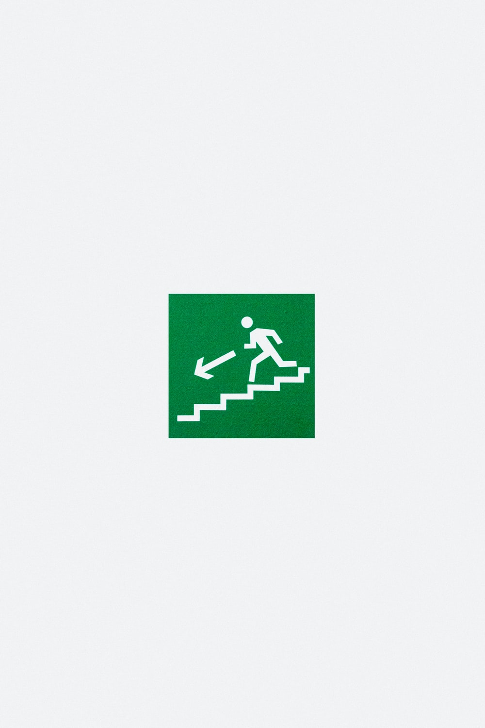 green and white downstairs logo