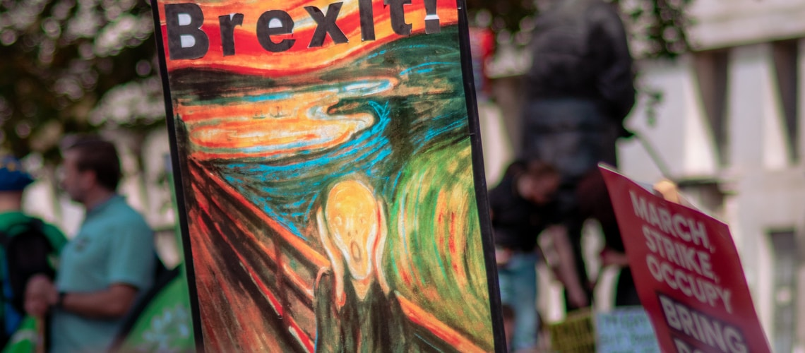 Brexit painting