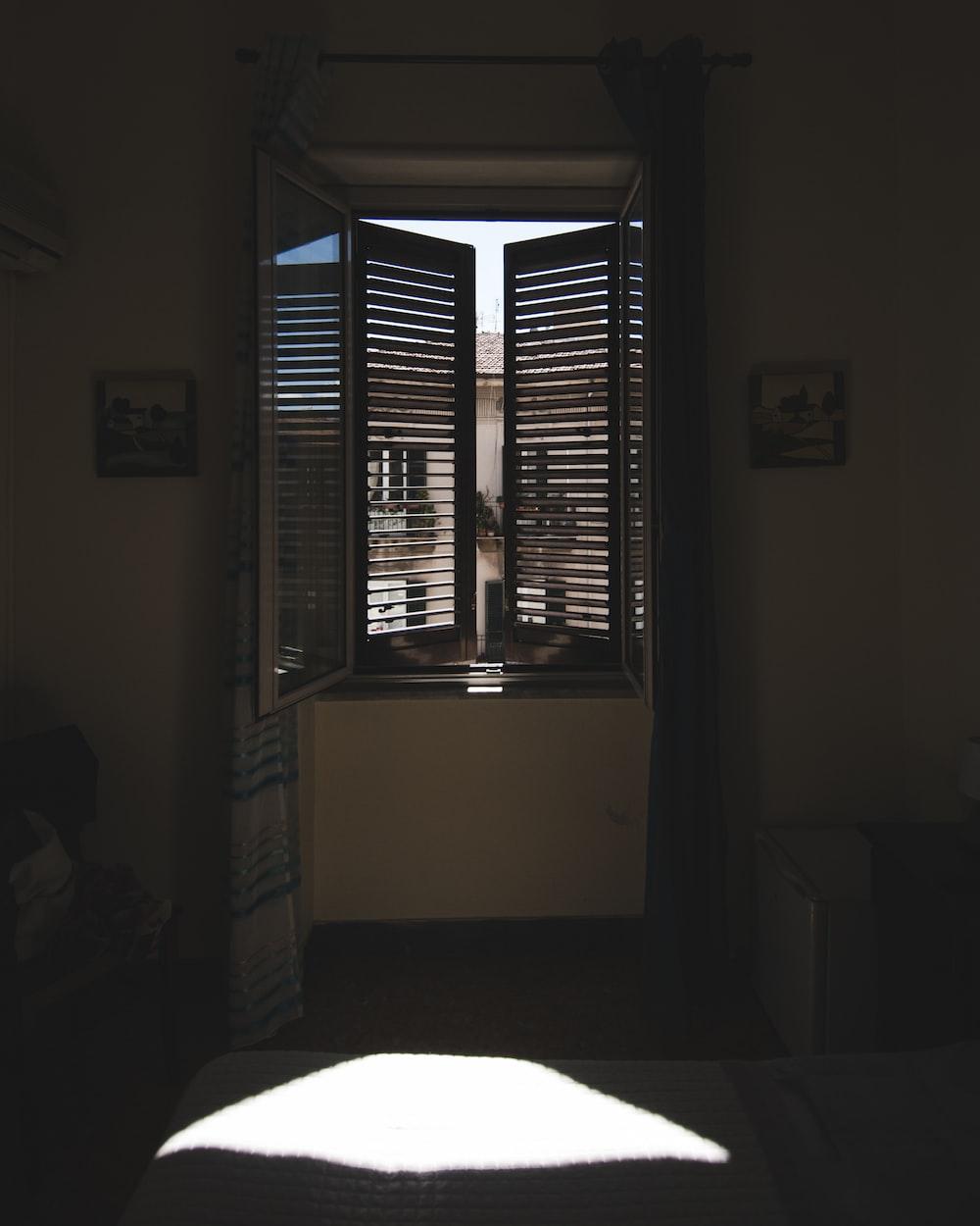 double louver window