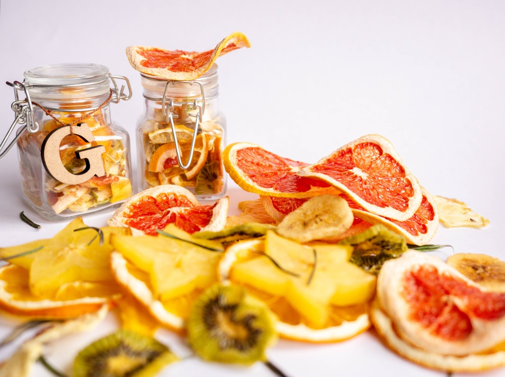 slices of variety of citrus fruits