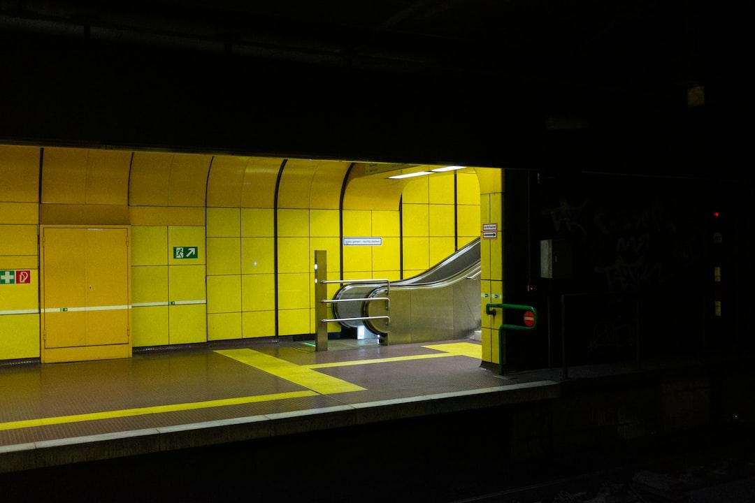Metro Station Heussallee in Bonn, Germany