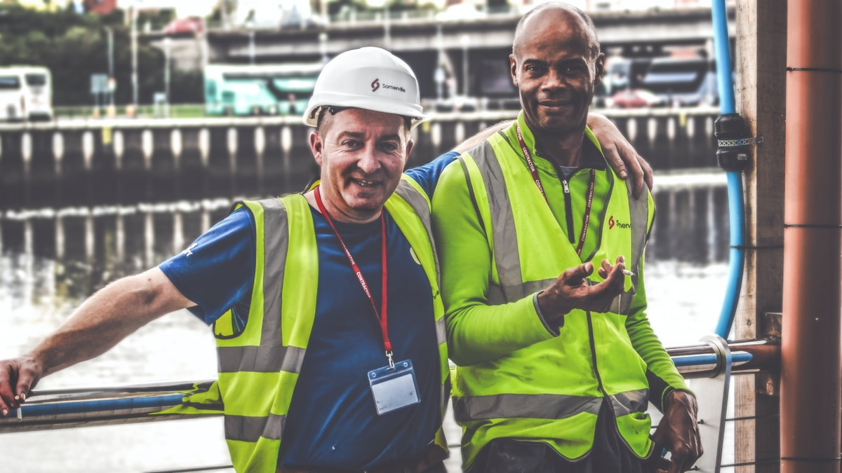 Construction workers benefit from effective onboarding / inductions