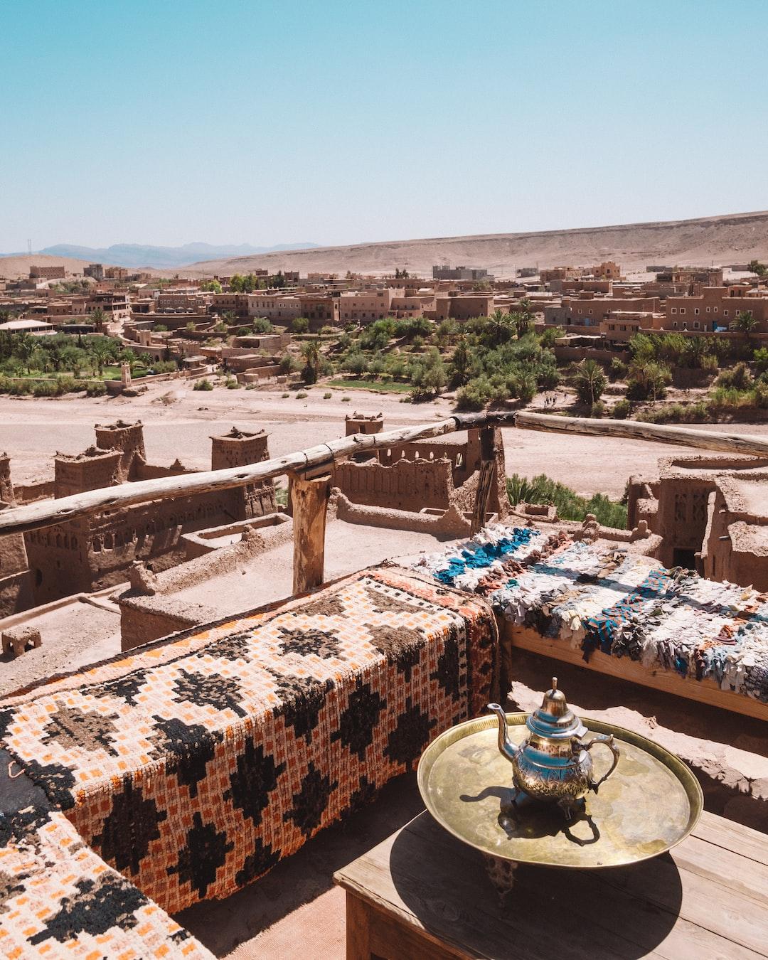 Ait benhaddou in Morocco