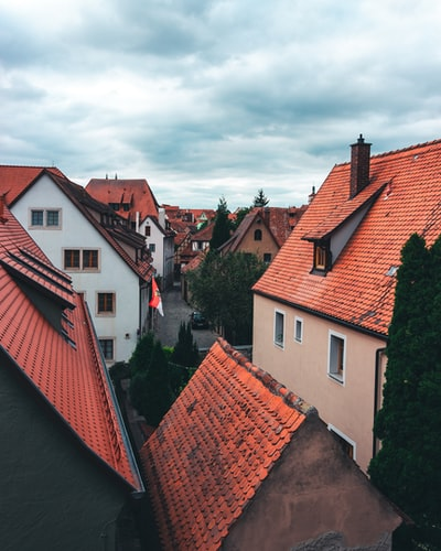 World of rooftops in