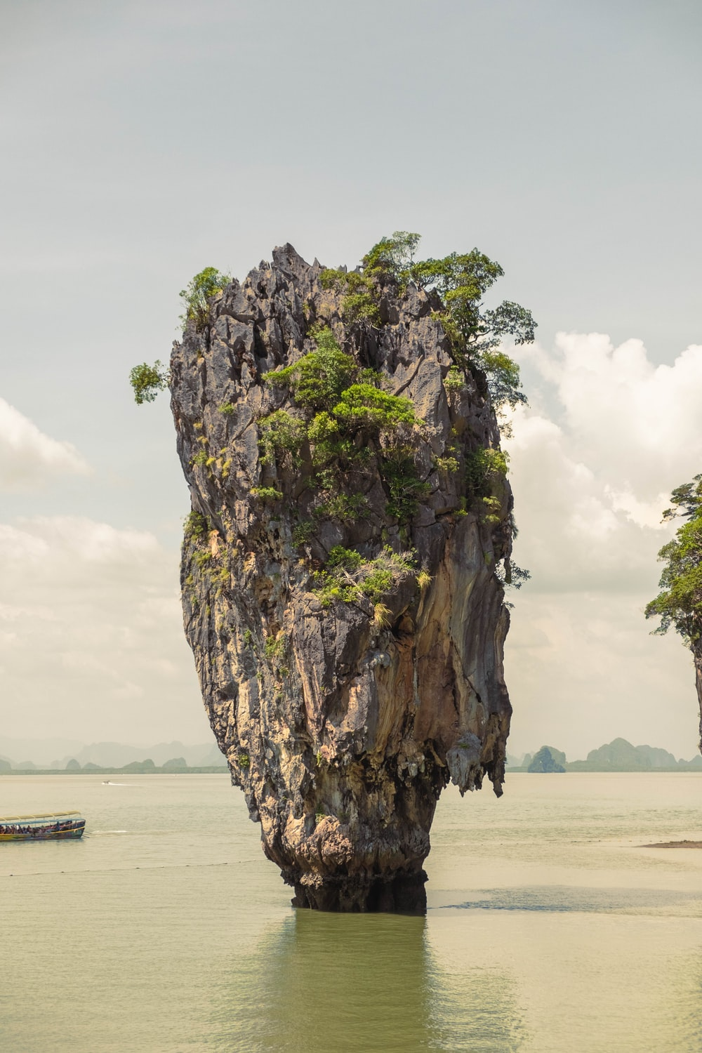landscape photography of Thailand Khao Phing Kan island
