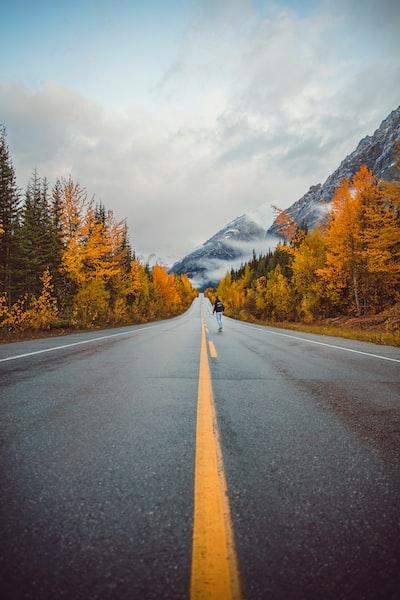 The Big Trip | Skating Down Icefields Parkway - Explore more at explorehuper.com/the-big-trip