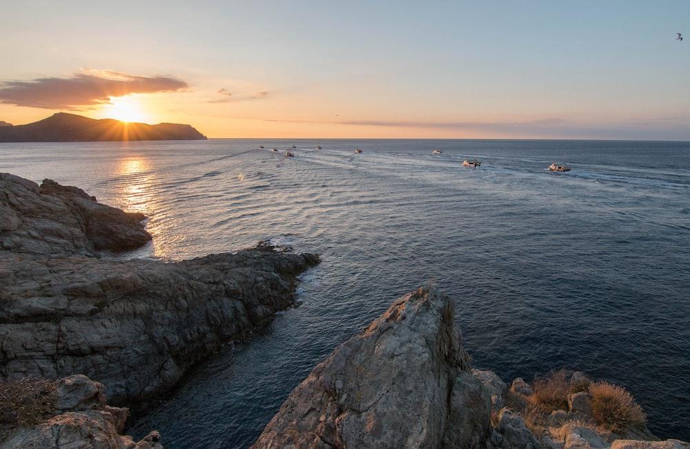 blue ocean photography