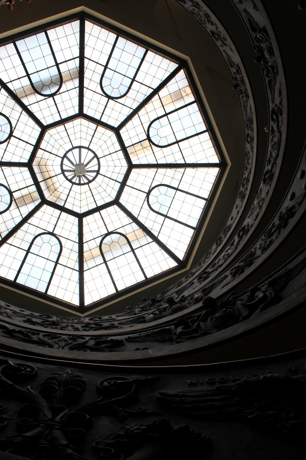 low angle photography of building dome