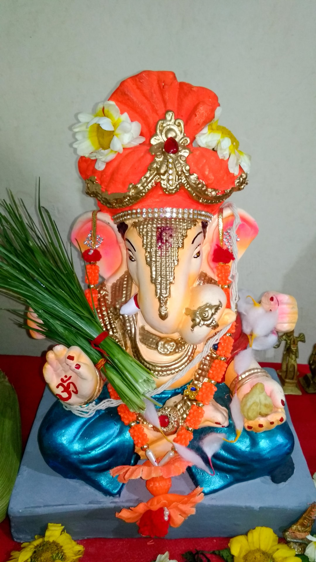Ganpati Bappa Moriya #ganpati #godess #god #temple #pune