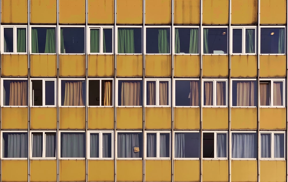 brown high rise building