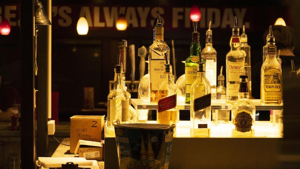 glass bottle lot