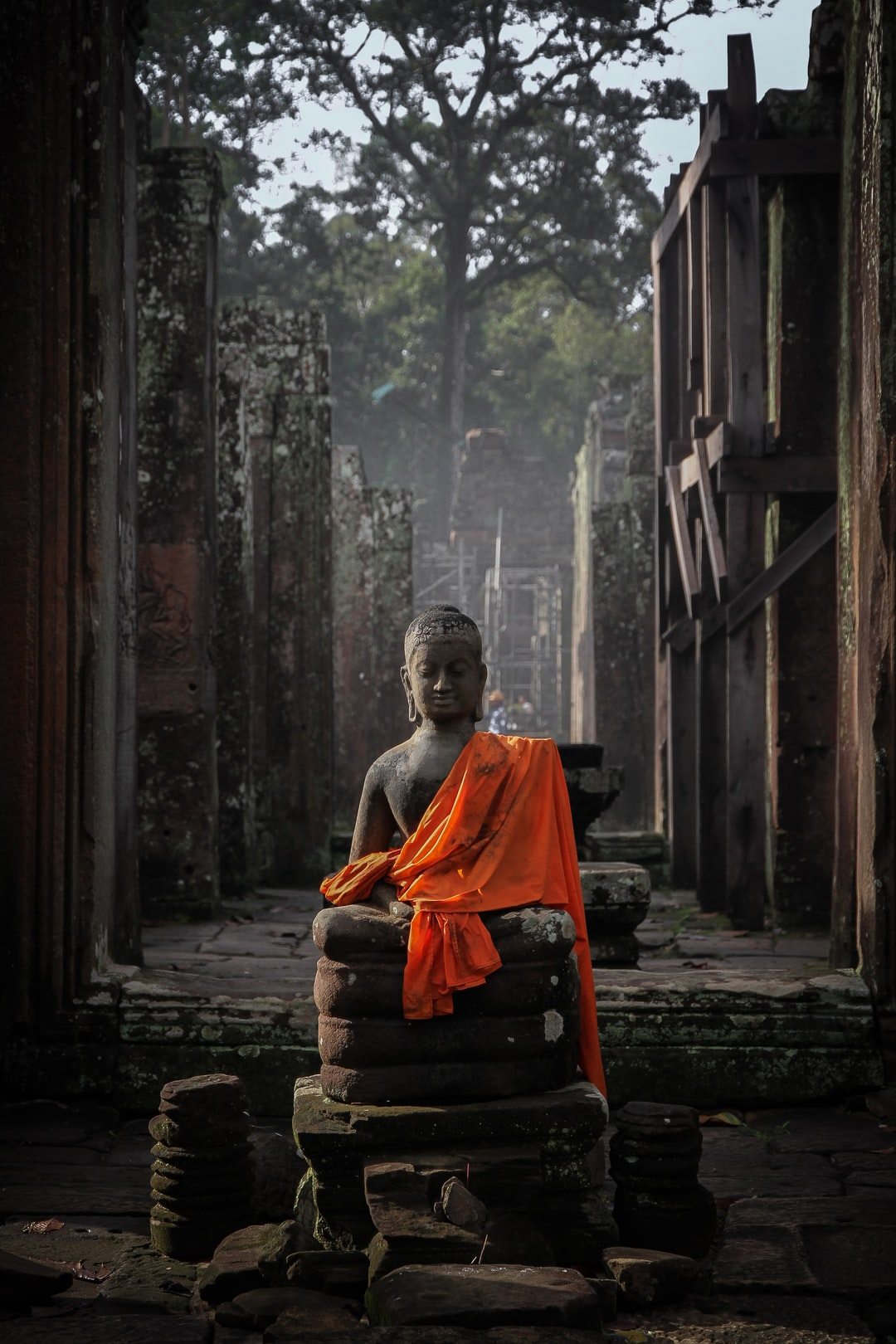 Bouddha / Angkor Vat - Cambodia