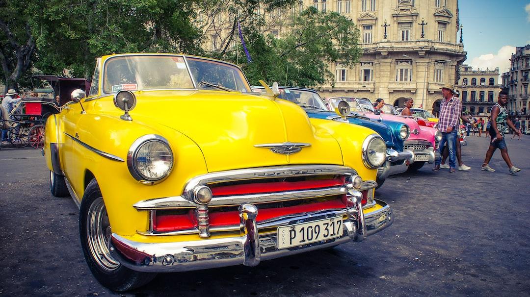 colourful cuban car - La havana / Cuba