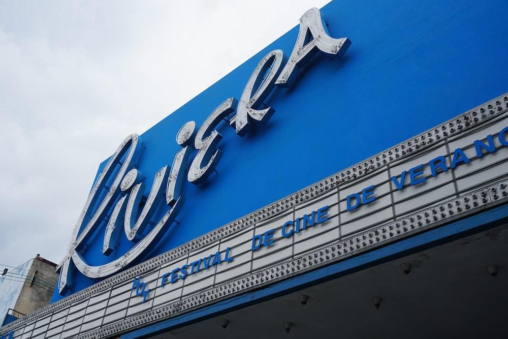 Riviera signage