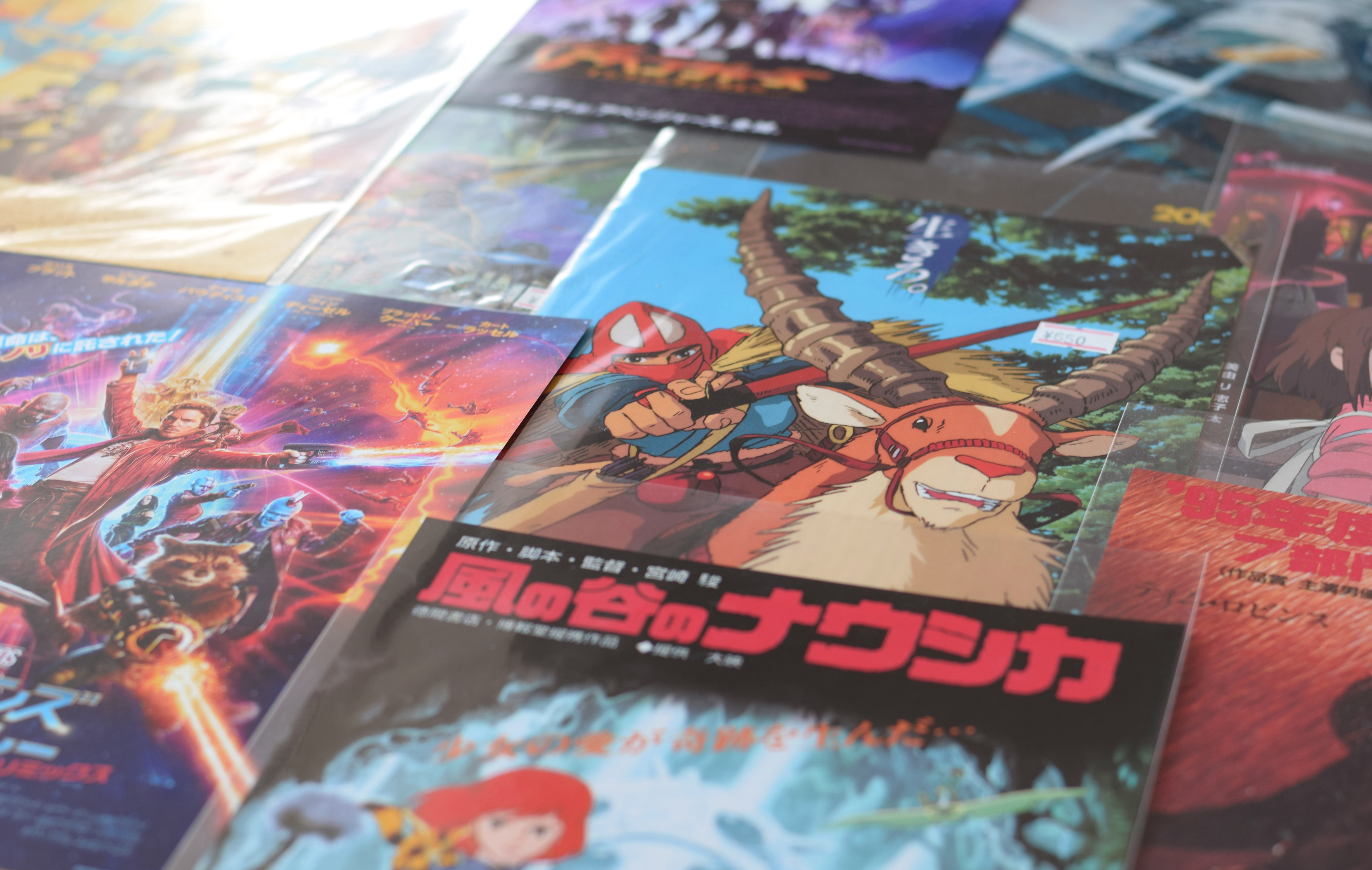 """""""A collection of small Japanese movie posters from a tiny film memorabilia shop buried deep in the labyrinthine Nakano Broadway shopping mall in Tokyo, Japan. """""""