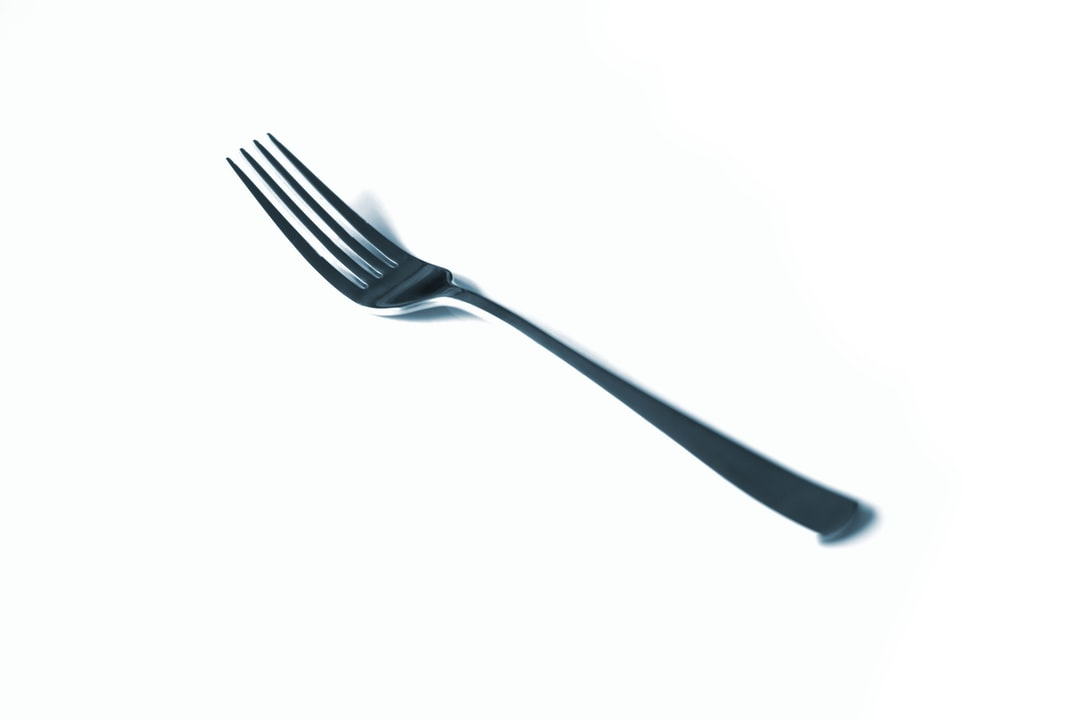 A fork.