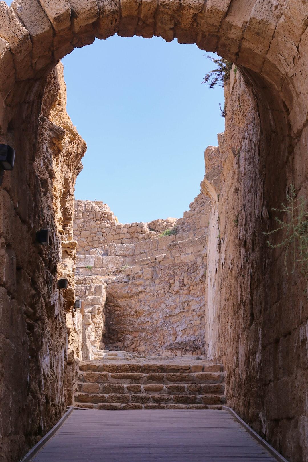 Sandstone Alleyway