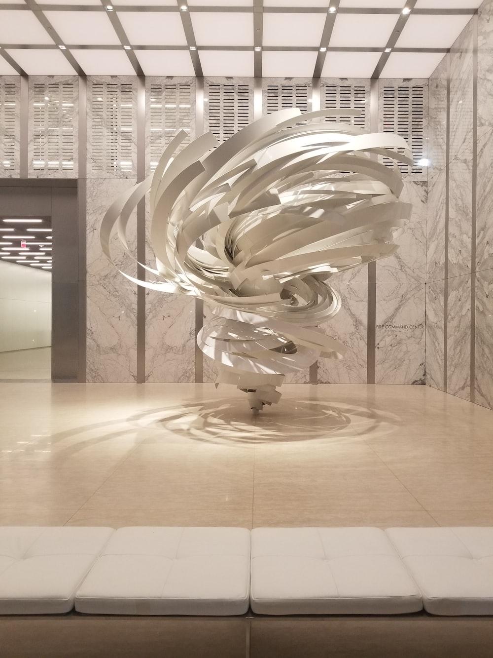 twirl white interior design decor