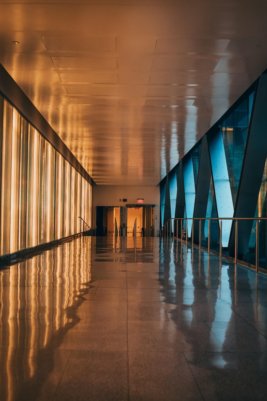 hallway of inside building view