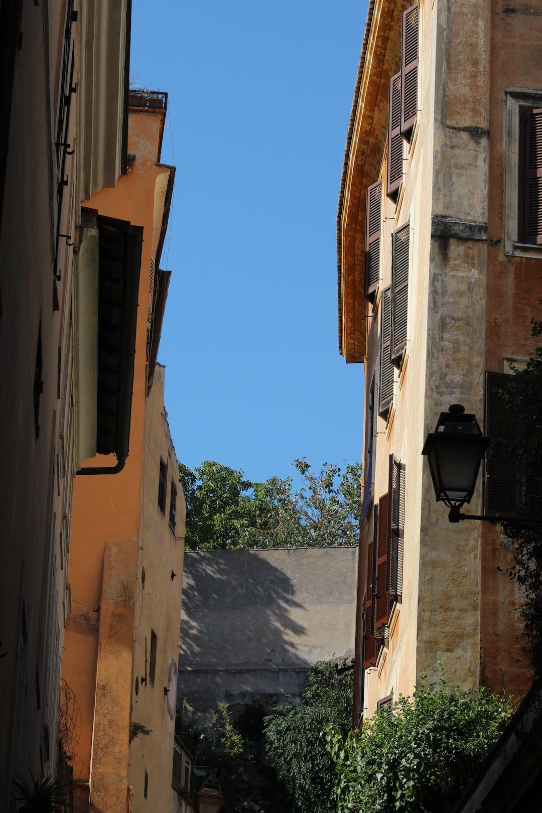 Street view, Rome, Italy