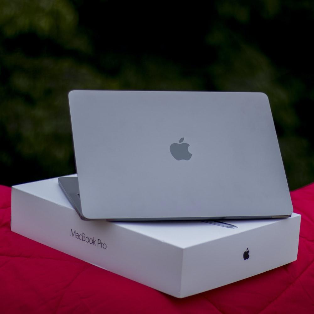 Macbook Pro on box