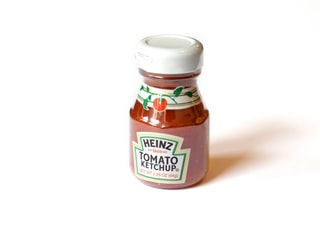 Heinz Tomato ketchup bottle