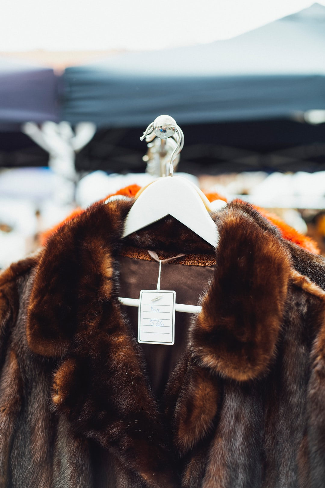 Garage Sale – Coat of Animal. Made with Canon 5d Mark III and loved analog lens, Leica Summilux-R 1.4 50mm (Year: 1983)
