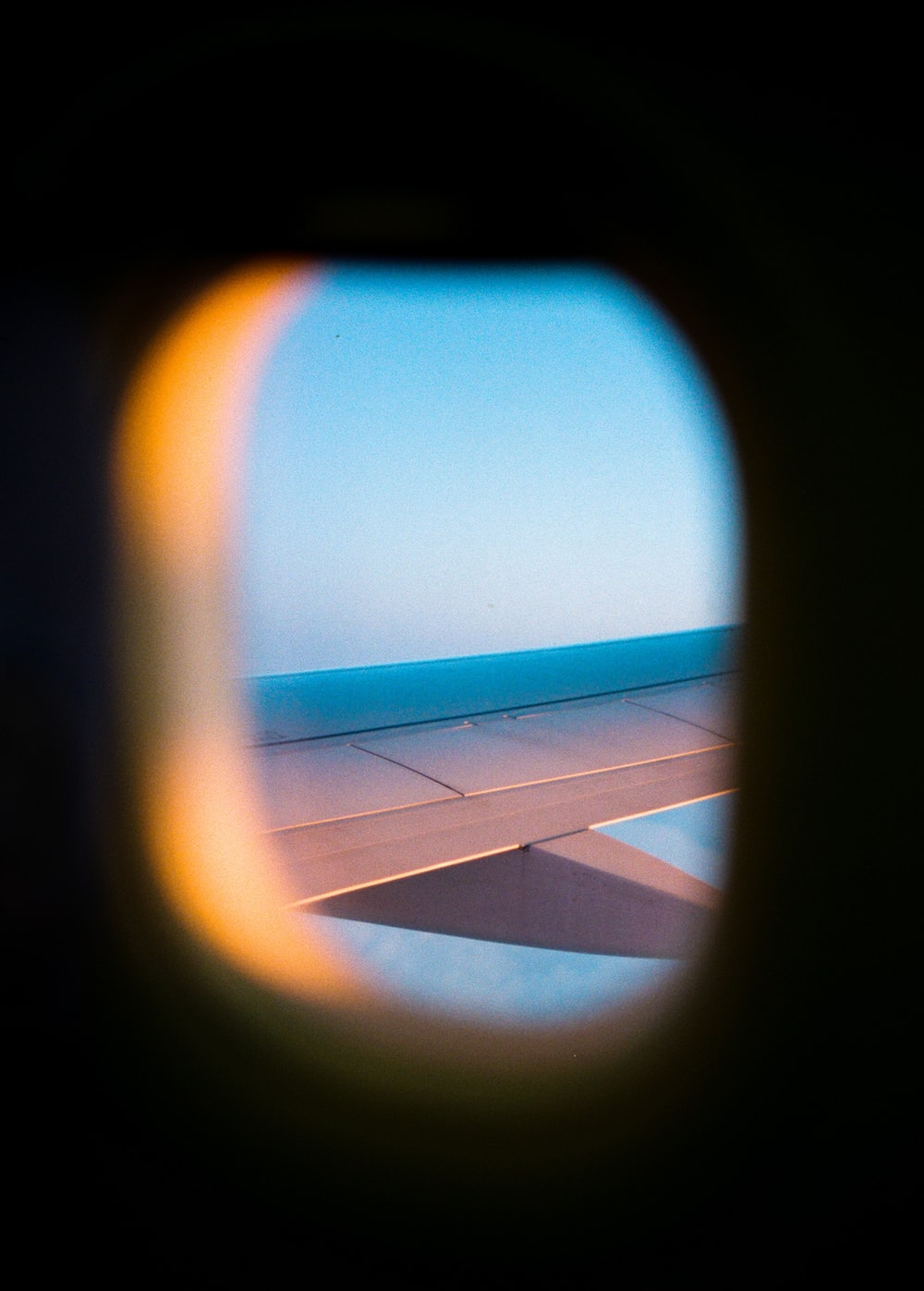 airliner window