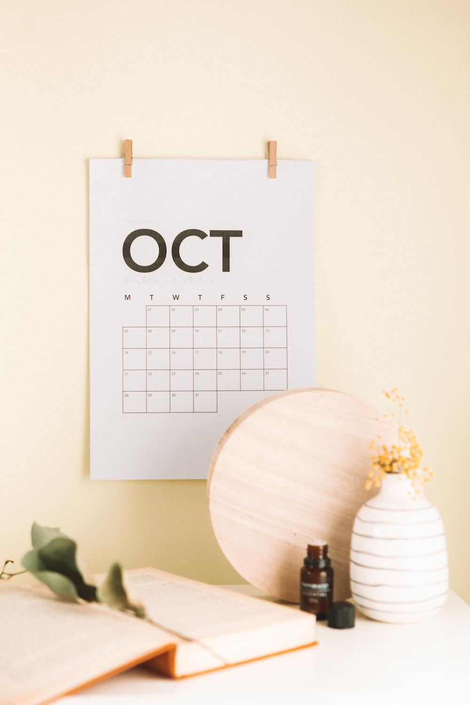 Oct calendar