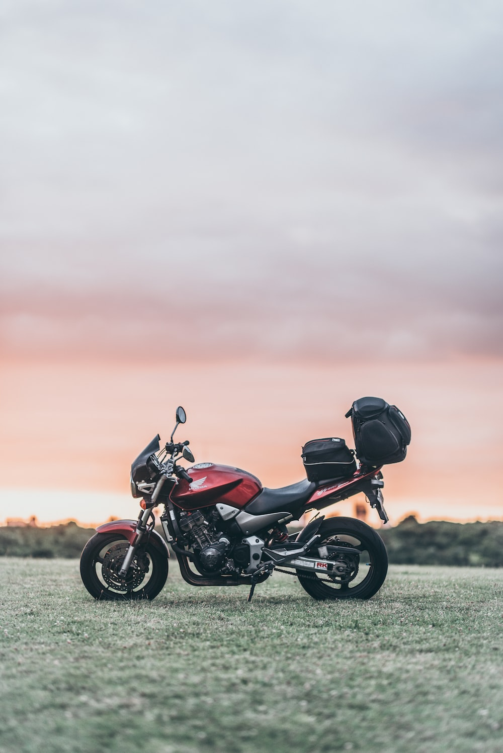 black and red naked motorcycle